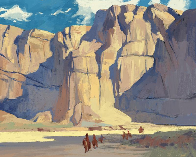Master Study: Edgar Payne